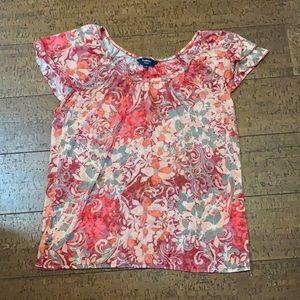 Reitmans Petites shirt sleeve blouse